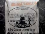 Organic, 67% Cacao Orange/Vanilla Hemp Seed Chocolate